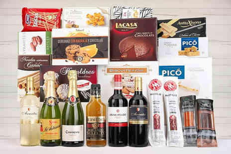 Q Regalo - Christmas food and wine hamper choose from three options - Save 59%