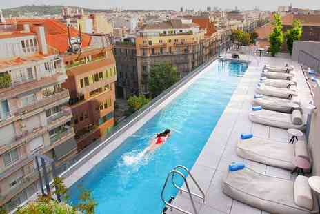Ohla Eixample - Five Star Contemporary Luxury & Michelin Starred Restaurant Stay For Two - Save 69%