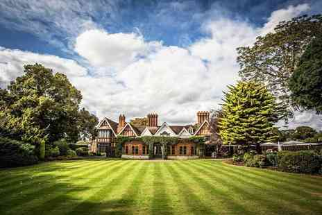 Macdonald Alveston Manor Hotel - Spa day for two people with four hour spa access, an afternoon tea and two treatments each - Save 54%