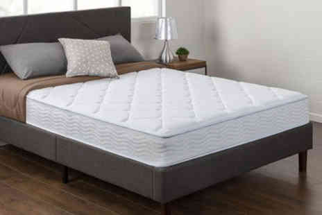 Trusleep - Dual spring memory foam mattress, choose from six sizes - Save 82%