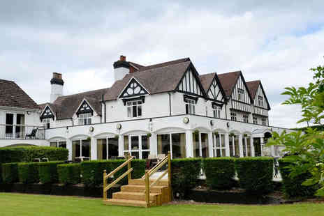 Buckatree Hall Hotel - One or two night Shropshire escape for two people including breakfast and dinner - Save 51%