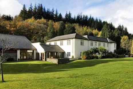 Nant Ddu Lodge Hotel - Brecon Beacons stay with prosecco - Save 47%