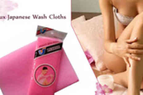 Salux store - Original Japanese Beauty Skin Salux Wash Cloth for Invigorate and stimulate yourself during your next bath - Save 46%