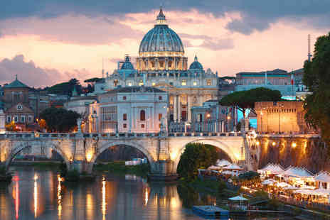 Holiday Vista - Two or three night Rome break with return flights - Save 27%