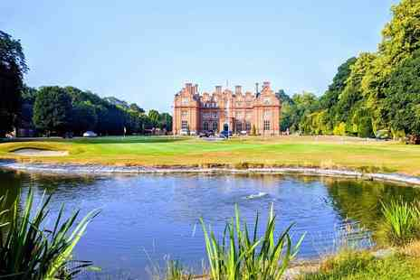 Broome Park Hotel - Overnight 4 Star Canterbury stay for two with bottle of wine on arrival, breakfast and late check out - Save 60%