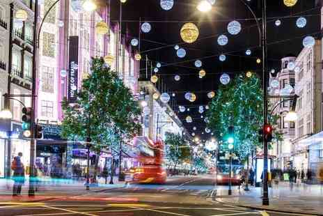 Golden Tours - Christmas lights London by night tour - Save 40%