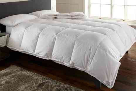 Groupon Goods Global GmbH - All Seasons Double Sided Duck Feather Duvet - Save 80%