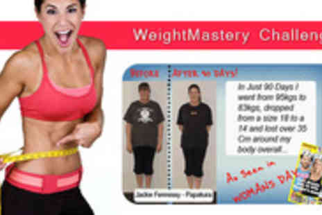 Healthmastery - Win big with Weightmasterychallenges body shaping 3 month diet plan - Save 87%