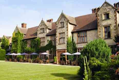 Billesley Manor Hotel - Spa day with massage, lunch & bubbly near Stratford - Save 30%