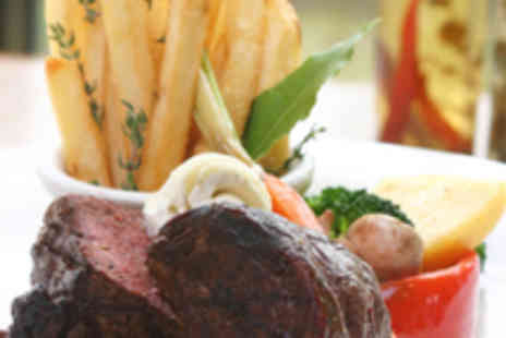 The Nags Head - Two Course Meal for Two with a Glass of Wine Each - Save 52%