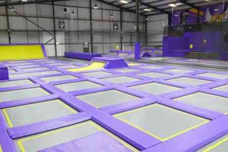 Super Tramp Sunderland - One Hour Trampoline Park Access for One or Two - Save 26%
