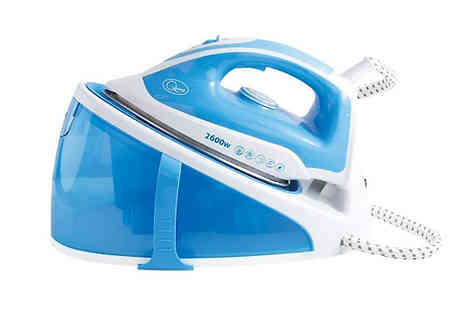 Home Season - Quest 2600W Steam Generator Iron - Save 50%