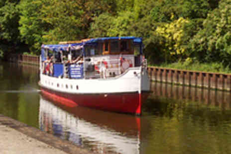 The Wyre Lady - Sprotbrough Canal Cruise for Two with Wine - Save 63%