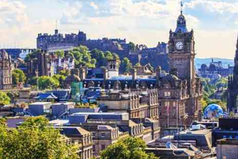 Super Break - 2 Nights central Edinburgh stay With breakfast & dinner - Save 0%