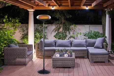 Who Needs Shops - Free standing 2kW outdoor electric patio heater - Save 74%