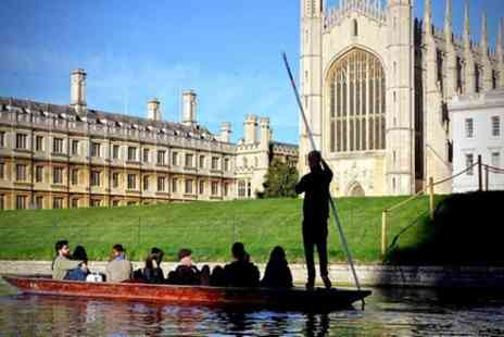 River Cam Punting - Private Chauffeur Punt Tour - Save 0%