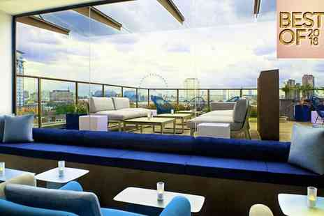 H10 London Waterloo - Best of 2018, Four Star Rooftop City Views For Two near the South Bank - Save 79%