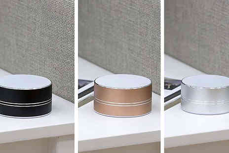 Smart Retail Goods - Akai Compact Bluetooth Speaker Available in 3 Colours - Save 63%