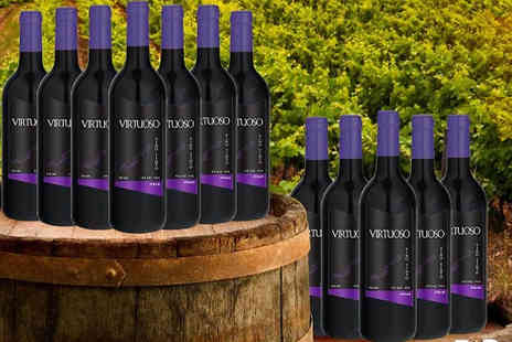 Casa de Vinos Finos - 12 Bottle Selection of Red Wines Choose From 7 Options - Save 69%