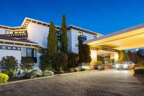 The Diplomat Hotel - Canberra Stay with Brekkie, Wine & Chocolates - Save 0%