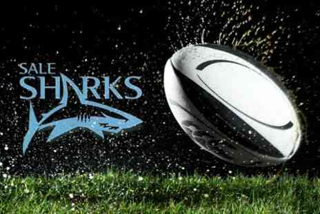 Sale Sharks - Two Tickets to the JP Morgan Premiership Rugby 7s at Edgeley Park - Save 66%