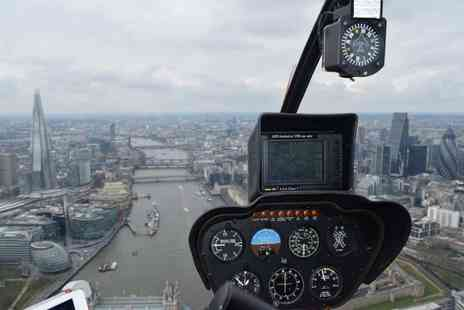 Phoenix Helicopter Academy - 60 minute helicopter tour of London - Save 0%