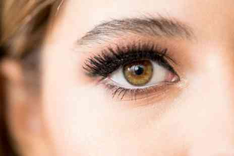Glamorous Glance - Eyelash Extensions with Brow Tint and Shape - Save 36%