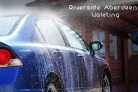 Riverside Aberdeen Valeting - Mini Valet With Wash and Interior Clean for £12 at Riverside Aberdeen Valeting - Save 0%
