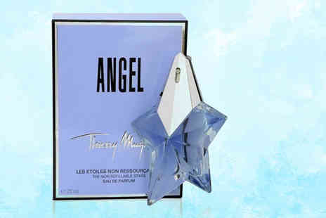Deals Direct - Refillable 25ml bottle of Angel Thierry Mugler eau de parfum - Save 32%