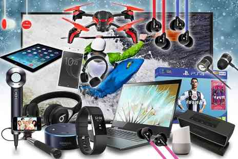 Brand Arena - Mystery electronics deal Samsung, Sony, Bose, Lenovo, Veho, Google, Defunc and more - Save 0%
