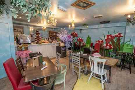 Storybooks Tearoom - Mad Hatter Afternoon Tea for Two or Four - Save 44%