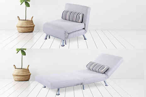 Aosom - Foldable single futon sofa bed - Save 40%