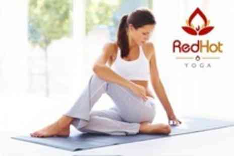 Red Hot Yoga - Guildford Ten Hot Yoga Classes For Two - Save 36%