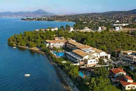 Negroponte Resort Eretria - Five Star Seafront Luxury on an Unspoiled Island Stay For Two - Save 56%