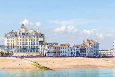 Afton Hotel - Overnight Eastbourne stay for two people with breakfast and a welcome drink - Save 32%