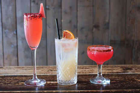 The Conservatory Bar - Four cocktails between two people - Save 61%