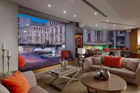Athens Tiare Hotel - Four Star Modern Style in Prime City Location for two - Save 55%
