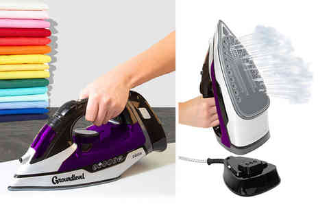 Groundlevel - Cordless steam iron - Save 75%