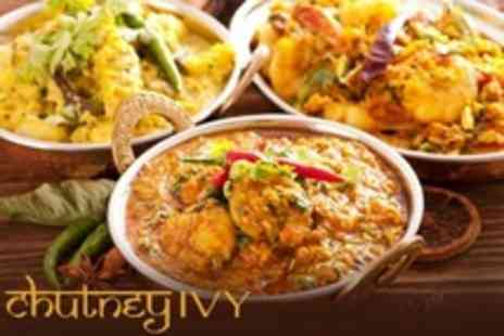 Chutney Ivy - Indian Fine Dining Two Courses, Rice, Naan, and Sides For Two - Save 64%