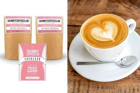 Skinny Coffee Club - 28 Day and night programme or Skinny bundle programme - Save 56%