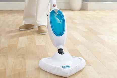 Groupon Goods Global GmbH - Easy Steam 1300W Steam Mop with Two Pads - Save 68%
