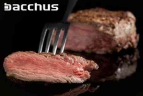 Bacchus Glasgow - Sirloin Steak and Mussels For Two - Save 54%