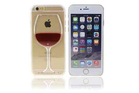 London Exchain Store - Wine glass iphone case choose from three designs - Save 60%