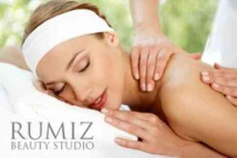Rumiz Beauty Studio - One-Hour Aroma Facial and Back Massage for £24 at Rumiz Beauty Studio (66% Off) - Save 66%