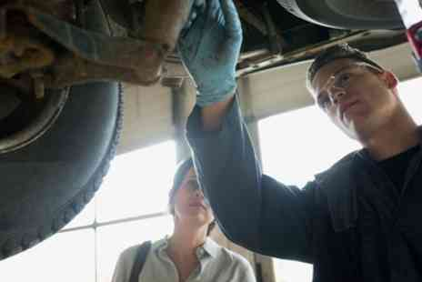 Treadwell Service Center - Full Car Service with Oil Change, Winter Check, Coolant and Tyre Check - Save 78%