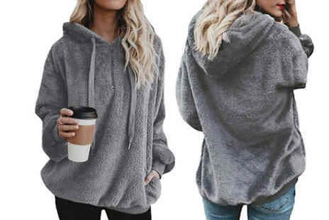 Best mall ever - Womens Fleecy Polar Jumper Available in Five Colours - Save 75%