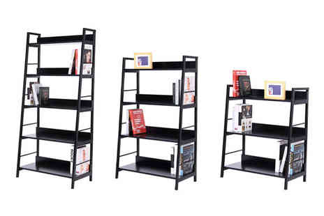 Mhstar - Three tier contemporary bookcase, four tier bookcase or five tier bookcase - Save 57%