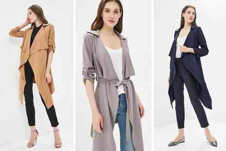 Lozana Paris - Belted waterfall jacket choose from nine colours - Save 75%