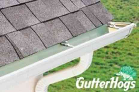 GutterHogs - Maintenance Gutter Clean and Fascia Wash For House or Flat - Save 81%
