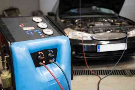 Treadwell Service Center - Car Air Conditioning Service with Re Gas and Optional Health Check - Save 46%